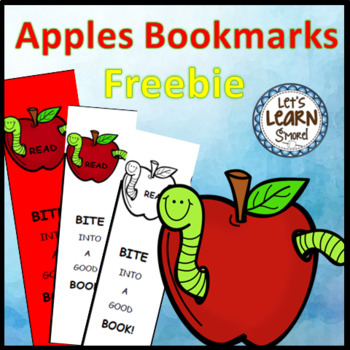 Apples Activities Bookmarks (free) For Apple Theme, Johnny Appleseed. Apple Unit