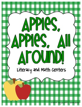 Apples, Apples, All Around! Literacy and Math Centers
