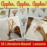 Apple Unit {CCSS Integrated Math, ELA, Science, Social Studies, Art}