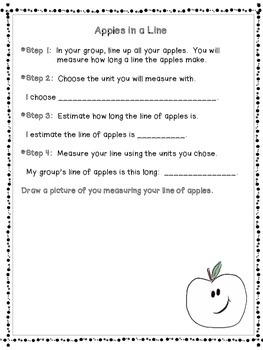 Apples, Apples, Apples!  A Math and Measurement Mini-Unit for Fall