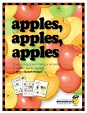 Apples, Apples, Apples Book Companion Materials for Speech