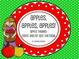 Apples, Apples, Apples! Count & Write the Room