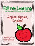 Apples, Apples, Apples!  K-2 STEM Activities