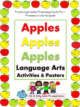 SEPTEMBER LITERACY! Apples Apples Language Arts Activities