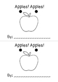 Apples Apples Emergent Reader