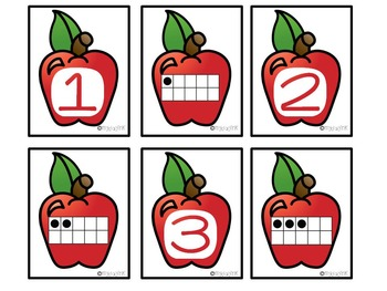 Letter Match with Apples