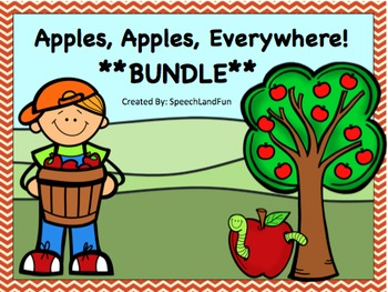 Apples, Apples, Everywhere BUNDLE - *174 Pages!* (Save 20%) Fall / Autumn