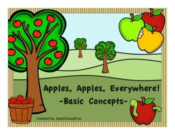 Apples, Apples, Everywhere!  -Basic Concept Unit-