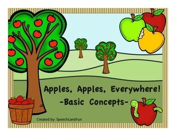 Apples, Apples, Everywhere!  -Basic Concept Unit-