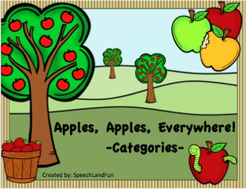 Apples, Apples, Everywhere!  -Category Unit-