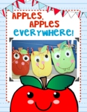 Apples, Apples Everywhere! Glyph and Apple Poem Activities