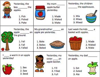 Apples, Apples, Everywhere!  -Grammar Unit-