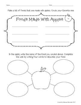 Apples, Apples Everywhere! {activities for literacy & math}