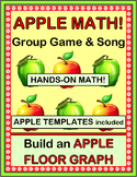 """Apple Activities!"" -- Group Game, Song, Craft, and Math Counting Graph"