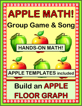 """Apple Activities!"" -- Group Game, Song, Craft, and Math C"
