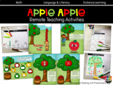 Apples Apples Remote Teaching Activities
