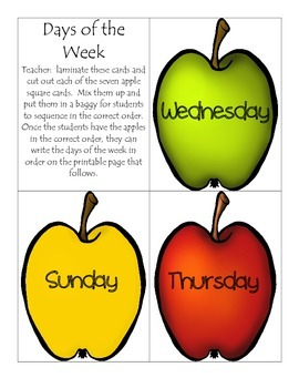 Apples, Apples, and More Apples - Math, Literacy, and Science Activities