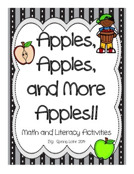 Apples, Apples, and More Apples - Math, Literacy, and Scie