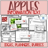 Apples Write An Informational Text
