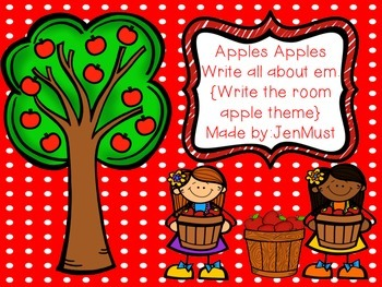 Apples Apples write all about em!