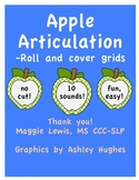 Apple Articulation! 10 sounds!