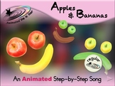 Apples & Bananas - Animated Step-by-Step Song - Regular