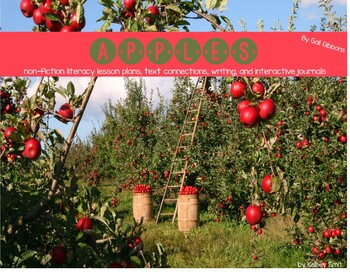 Apples (Book 3 in the Second Four Weeks of School Bundle)