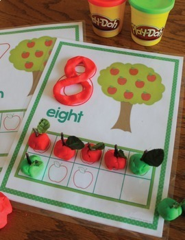 Apples Bundle:  Apple Theme Activities for Preschool and Pre-K