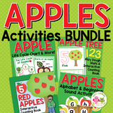 Apples Bundle:  Apple Theme Activities for Preschool and Pre-K