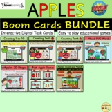 Apples Bundle BOOM Cards™ Distance Home Learning