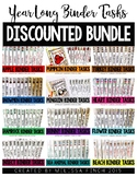Monthly Themed Binder Sets (DISCOUNTED BUNDLE) - Independent Work Binder System