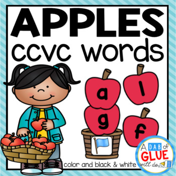 Apples CCVC Word Building Activity