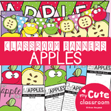 Apples Classroom Banner Pack
