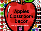 Apples Classroom Decor