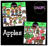 Apples Clip Art Bundle {Educlips Clipart}