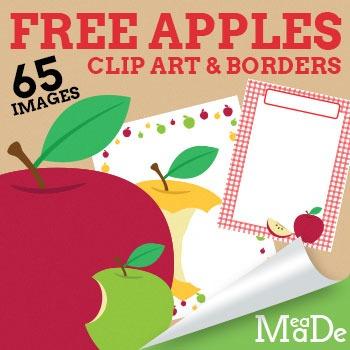 Apples Clipart **FREEBIE**