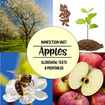 Apples Nonfiction Close Reading & Visual Vocabulary Unit