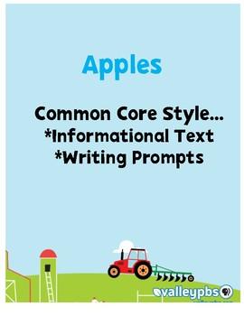 Apples: Close Reading PRINT & GO!