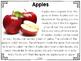 Apples Close Reading Practice
