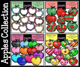 Apples Collection Clip Art Bundle {Educlips Clipart}