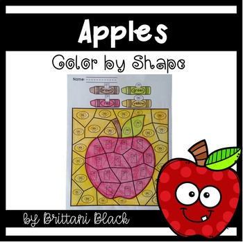 Apples Color by Code