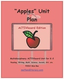 """""""Apples"""" Common Core Aligned Math and Literacy Unit - ACTIVboard EDITION"""
