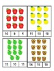 Apples - Count and Clip Cards #1-24
