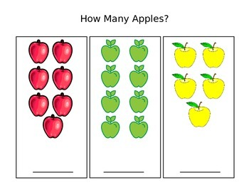 Apples Counting 1-10