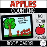 Apples Counting 1-10 BOOM Cards for Back to School Distanc