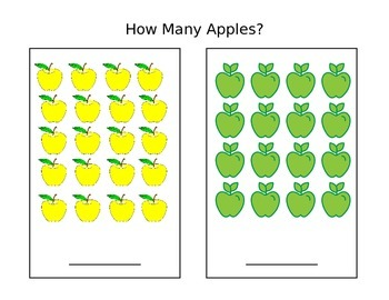 Apples Counting 10-20