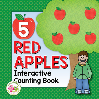 Apples Counting Book: 5 Red Apples - Autumn Counting for Preschool and ECE