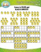 Apples Counting and Ten Frames Clipart Set — Includes 80 Graphics