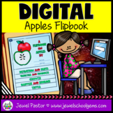 Apples DIGITAL Flipbook (Google Classroom Distance Learnin