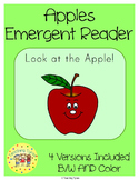 Apples Emergent Reader